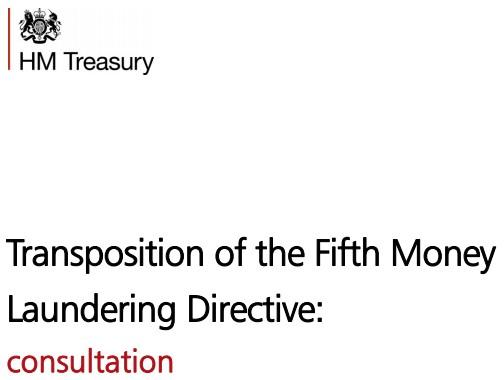 HMT Consultation 5AMLD